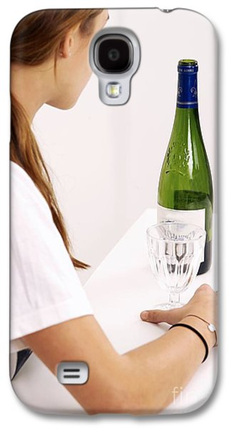 Drinking Wine Galaxy S4 Case