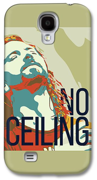 Pearl Jam Galaxy S4 Case - Eddie Vedder by Greatom London