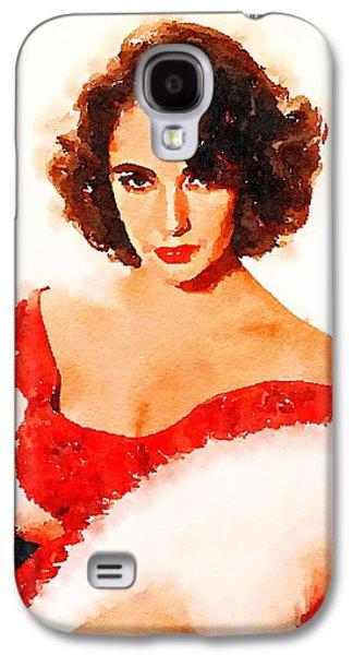 Elizabeth Taylor Galaxy S4 Case by John Springfield
