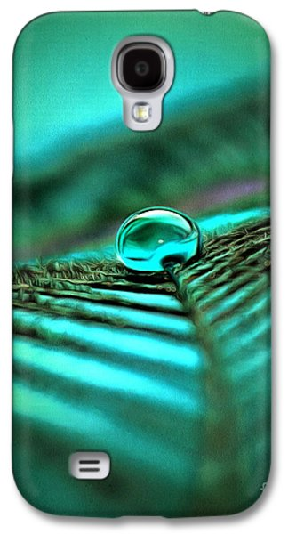 Emerald Peacock  Galaxy S4 Case by Krissy Katsimbras