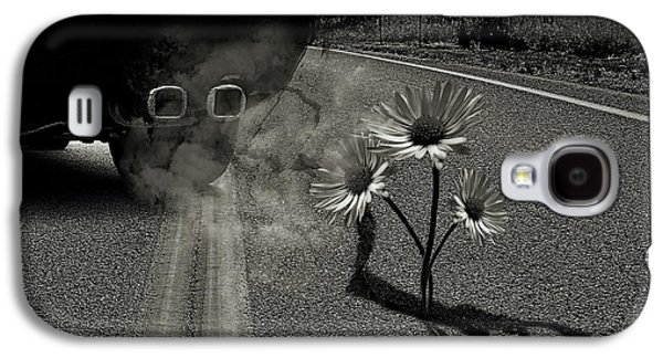 Exhausting Pipe Flowers Galaxy S4 Case by Marian Voicu
