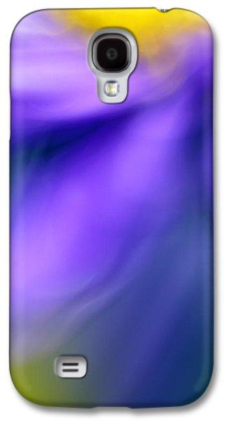 Fall Flower Galaxy S4 Case by Silke Magino