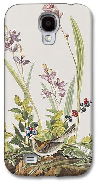 Field Sparrow Galaxy S4 Case by John James Audubon