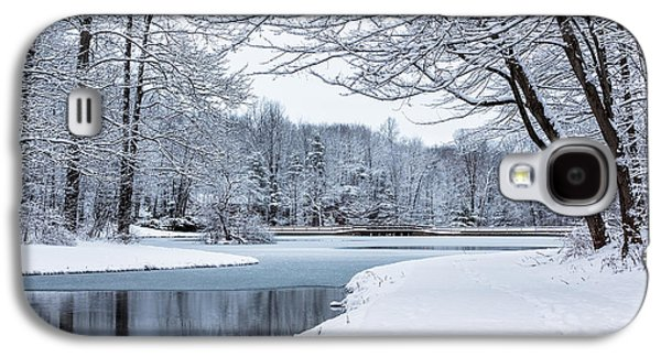 First Snow Galaxy S4 Case by Everet Regal