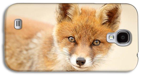 Foxy Face Galaxy S4 Case by Roeselien Raimond