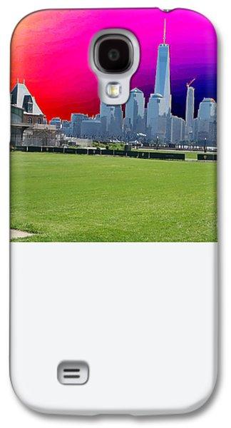 Freedom Tower Formerly World Trade  Centre Wtc New York Photo Taken On July 4 2015 Usa America's Bir Galaxy S4 Case by Navin Joshi