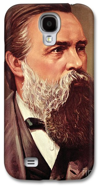 Friedrich Engels Galaxy S4 Case by German School