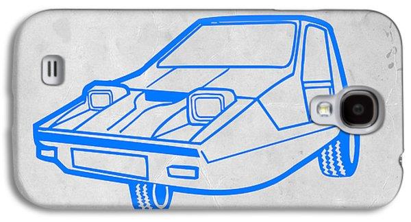 Funny Car Galaxy S4 Case by Naxart Studio