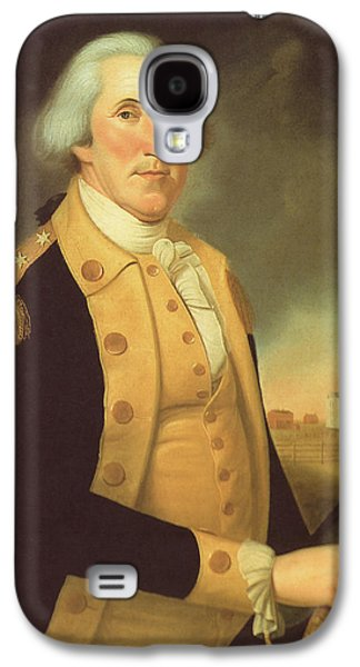 General George Washington Galaxy S4 Case by War Is Hell Store