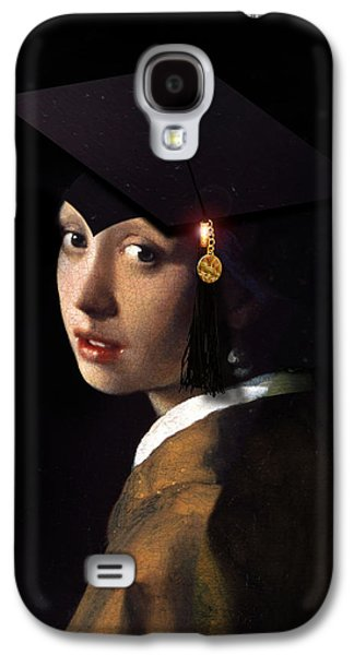 Girl With The Grad Cap Galaxy S4 Case by Gravityx9   Designs