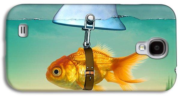 Gold Fish  Galaxy S4 Case by Mark Ashkenazi