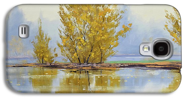Fall Scenes Galaxy S4 Case - Golden Fall by Graham Gercken
