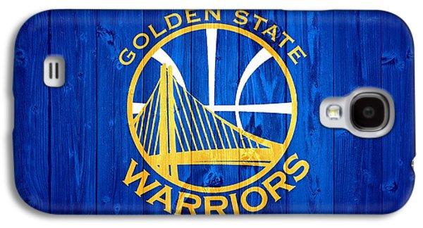 Golden State Warriors Door Galaxy S4 Case by Dan Sproul