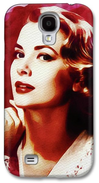 Grace Kelly Galaxy S4 Case - Grace Kelly, Hollywood Legend by John Springfield