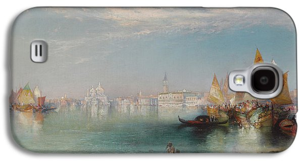 Grand Canal  Venice Galaxy S4 Case by Thomas Moran