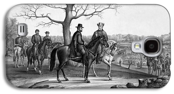 Grant And Lee At Appomattox Galaxy S4 Case