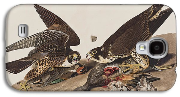 Great-footed Hawk Galaxy S4 Case by John James Audubon