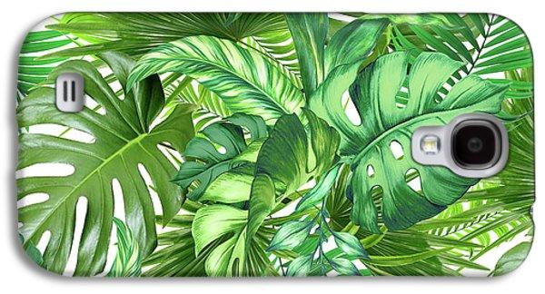 Green Tropic  Galaxy S4 Case by Mark Ashkenazi