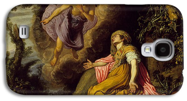Hagar And The Angel Galaxy S4 Case by Pieter Lastman