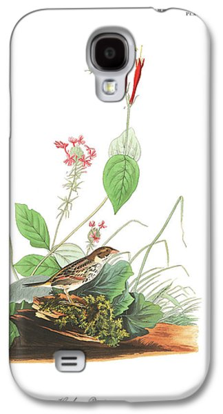 Henslow's Bunting  Galaxy S4 Case by John James Audubon