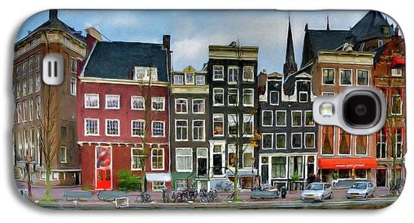Herengracht 411. Amsterdam Galaxy S4 Case by Juan Carlos Ferro Duque