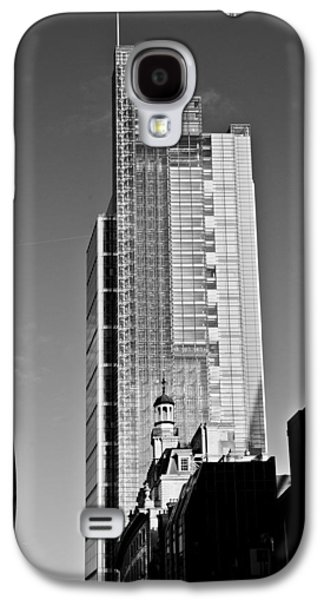 Heron Tower London Black And White Galaxy S4 Case