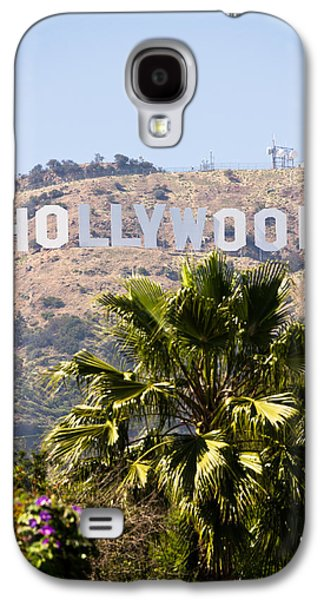 Monica Galaxy S4 Cases - Hollywood Sign Photo Galaxy S4 Case by Paul Velgos