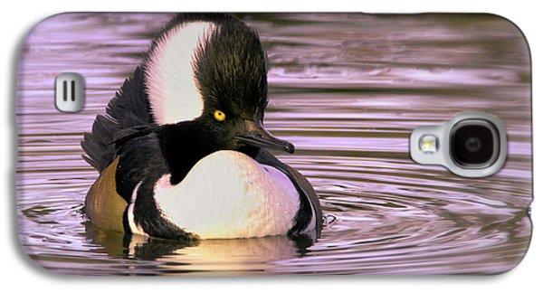 Hooded Merganser Galaxy S4 Case