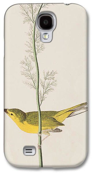 Hooded Warbler Galaxy S4 Case