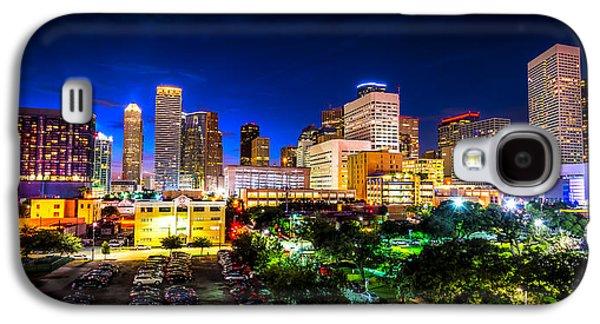 Houston City Lights Galaxy S4 Case