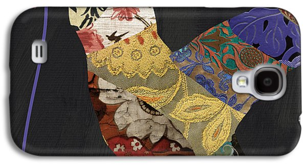 Hummingbird Brocade IIi  Galaxy S4 Case by Mindy Sommers