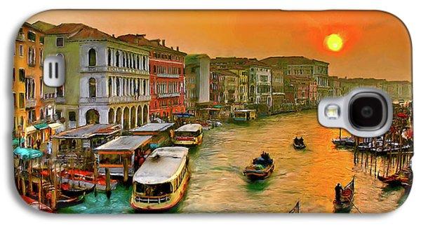 Imbarcando. Venezia Galaxy S4 Case by Juan Carlos Ferro Duque