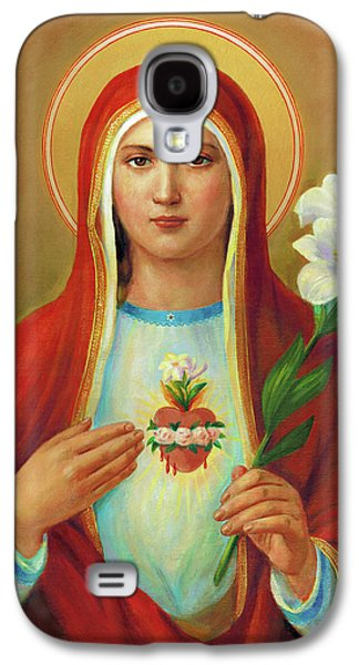 Galaxy S4 Case - Immaculate Heart Of Mary by Svitozar Nenyuk