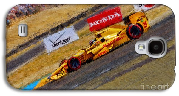 Indy Car's Ryan Hunter-reay Galaxy S4 Case by Blake Richards