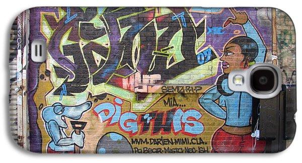 Inwood Graffiti  Galaxy S4 Case by Cole Thompson