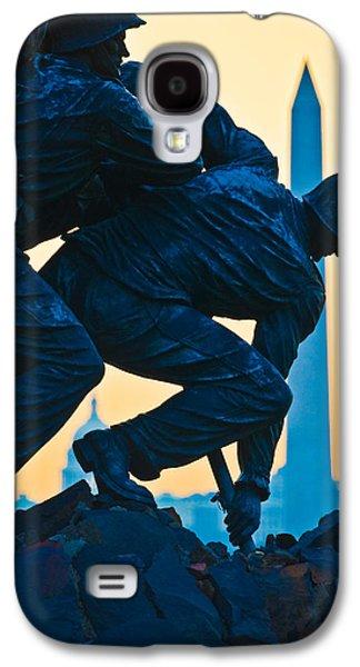 Iwo Jima Memorial At Dusk Galaxy S4 Case