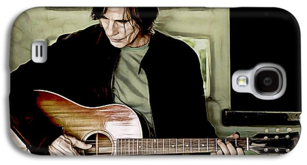 Jackson Browne Collection Galaxy S4 Case by Marvin Blaine