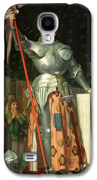 Joan Of Arc At The Coronation Of Charles Vii Galaxy S4 Case