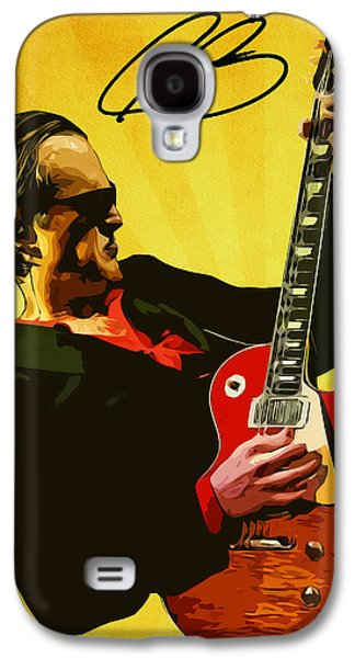Joe Bonamassa Galaxy S4 Case by Semih Yurdabak