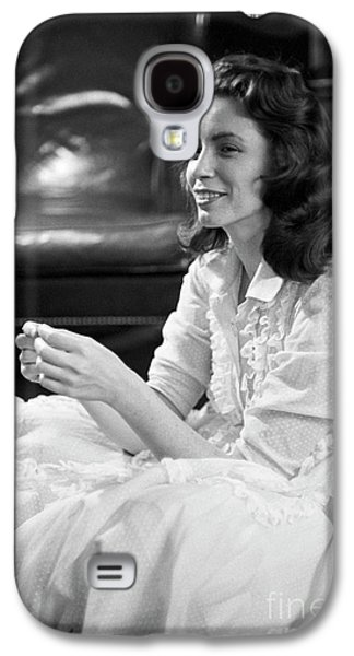 June Carter, 1956 Galaxy S4 Case by The Harrington Collection