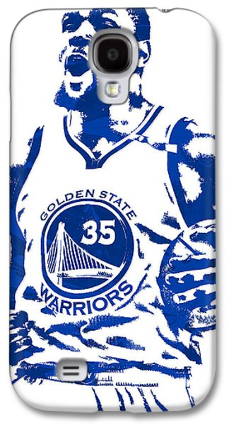 Kevin Durant Golden State Warriors Pixel Art 4 Galaxy S4 Case