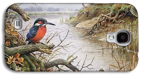 Kingfisher Galaxy S4 Case by Carl Donner