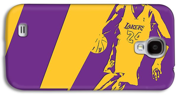 Kobe Bryant Los Angeles Lakers Galaxy S4 Case by Joe Hamilton