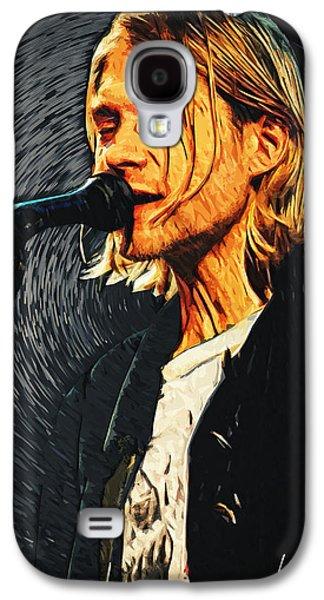 Kurt Cobain Galaxy S4 Case by Taylan Apukovska