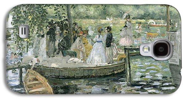 La Grenouillere Galaxy S4 Case by Pierre Auguste Renoir