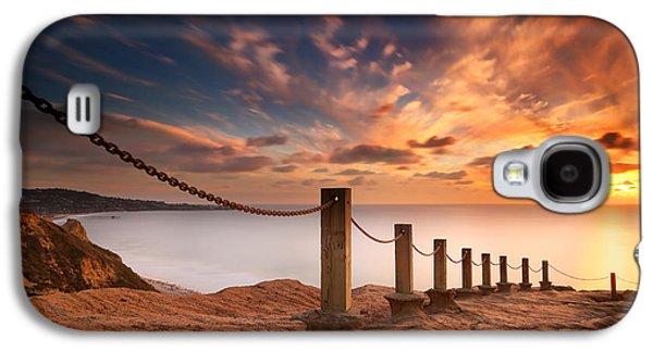 La Jolla Sunset 2 Galaxy S4 Case by Larry Marshall