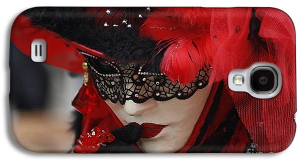 Lady In Red Galaxy S4 Case