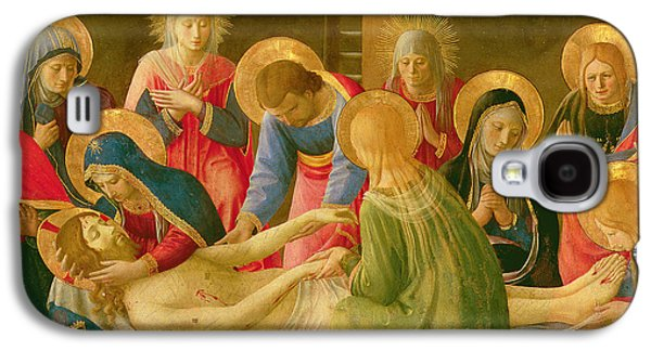 Lamentation Over The Dead Christ Galaxy S4 Case by Fra Angelico