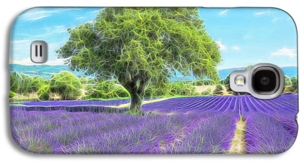 Lavender Bloom Galaxy S4 Case