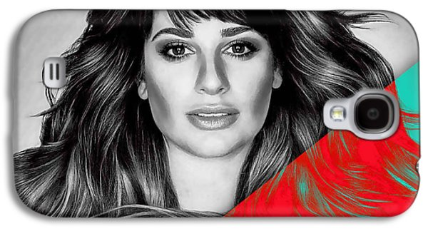 Lea Michele Collection Galaxy S4 Case by Marvin Blaine